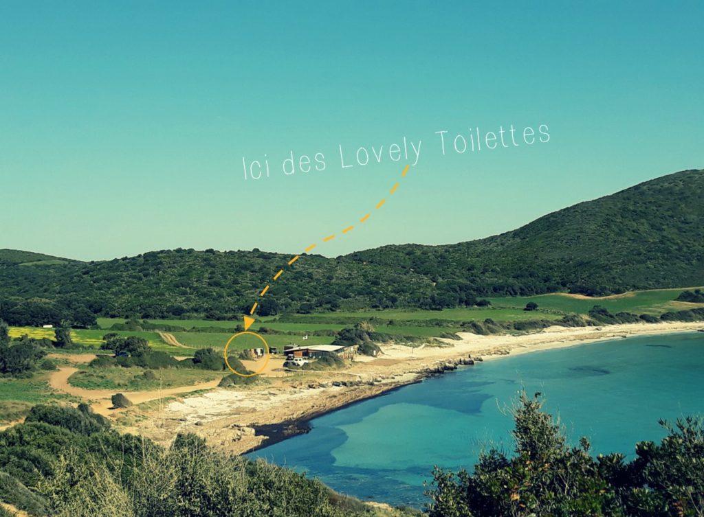 emplacement concession plage lovely toilettes sèches