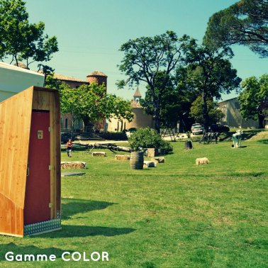 toilettes mariage VIP gamme color