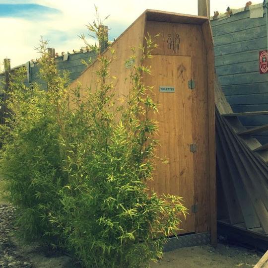 toilette écologique pour les plages