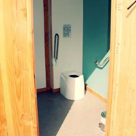 toilettes sèches publiques à séparation avec lombricompostage