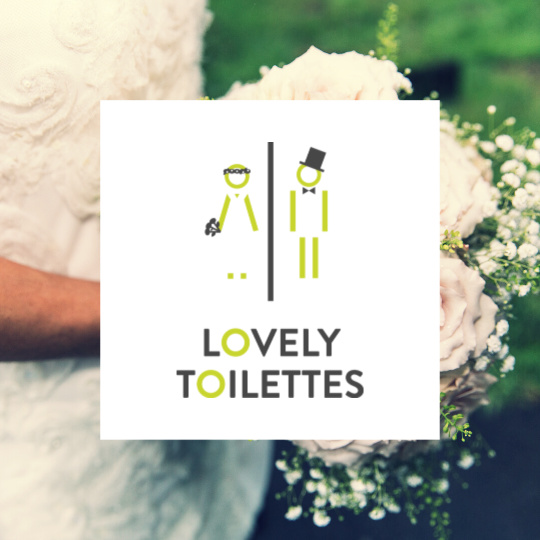 Location pack mariage toilettes démontables pour un mariqge green