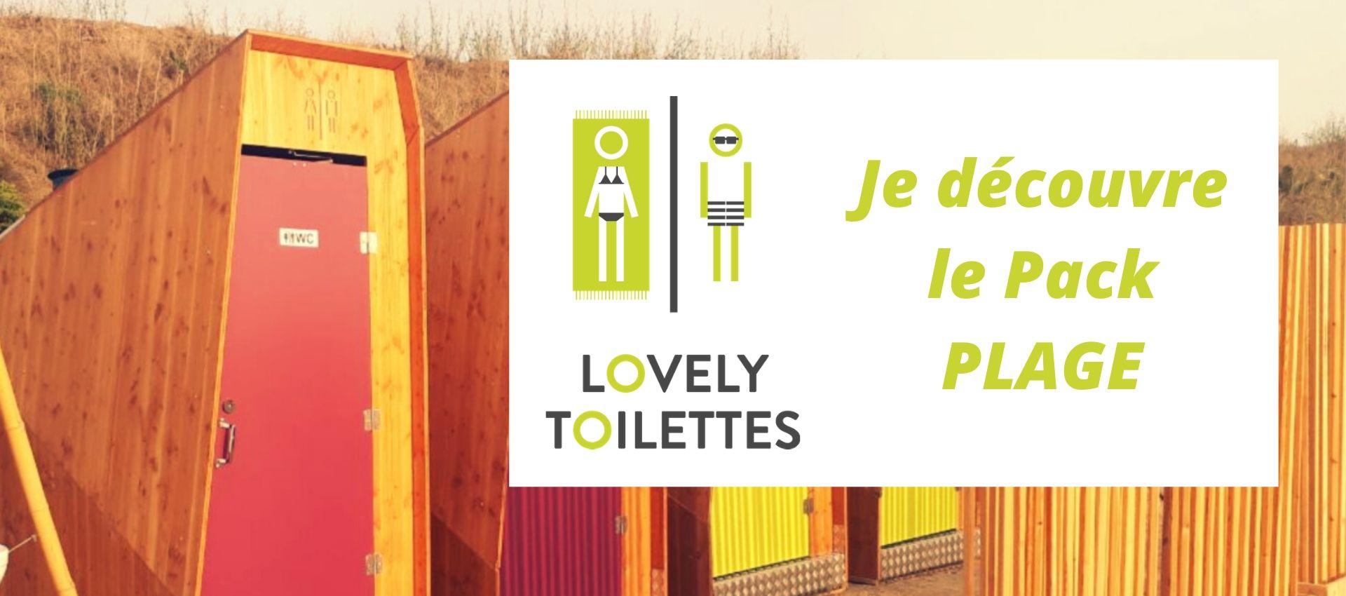 location de toilettes sèches pour les plages