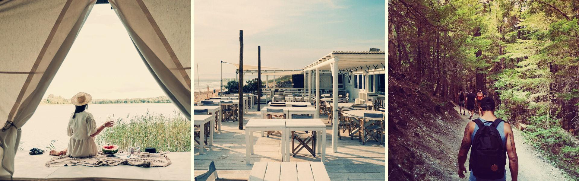deconfinement camping plage restaurant randonnee