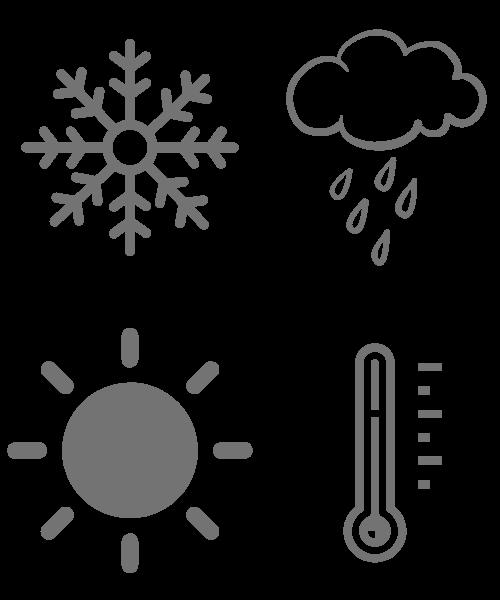 pictogrammes toilettes seches resistantes à la météo