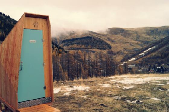 toilettes sèches en altitude