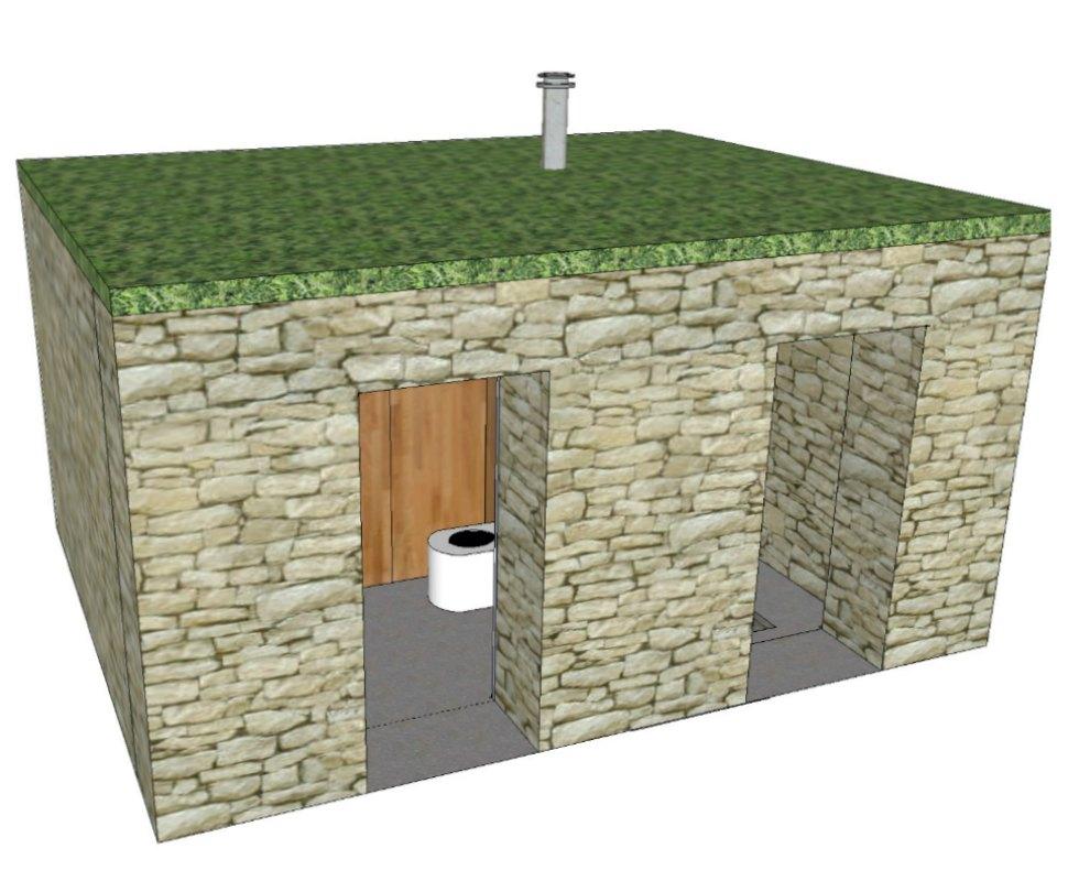 etude projet toilettes seches pierres lovely toilettes